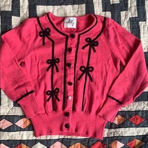 Milly minis Girls 3T Sweater Cardigan